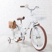 日本 iimo兒童腳踏車16吋-時尚白