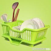 碗架瀝水大碗架2層家用廚房瀝碗架晾碗架濾廚房塑料晾碗置物架筷igo  印象家品旗艦店
