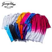 T恤 JerryShop【XXH0039】BASIC挑染淨色好搭短TEE (7色) 春吶首發款 漸層染 素面  現貨+預購