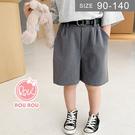 韓版男女童短褲。ROUROU童裝。夏男女...