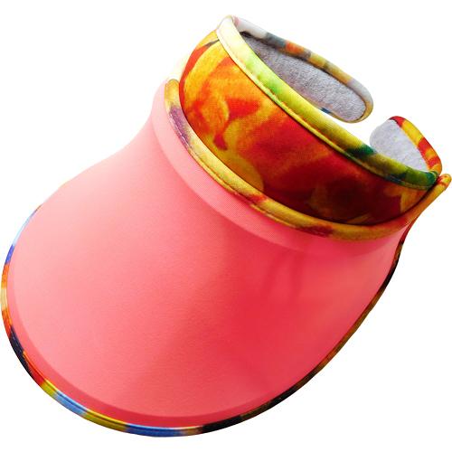 SUNSOUL/HOII/后益---新光感(防曬光能布)---伸縮彩帽 UPF50+ 紅光(脈衝光防曬遮陽帽)