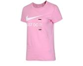 NIKE服飾系列-NSW TEE JDI SLIM 女款短袖休閒上衣 粉-NO.CI1384629