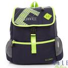 Backbager 背包族【ELLE Active】自信 她系列 強烈色彩 自我風格 後背包/背包/外出包  灰藍色/深藍綠色