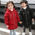 反季兒童羽絨棉服男童中長款棉衣女童連帽棉襖寶寶嬰幼兒加厚外套