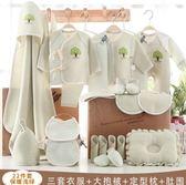 嬰兒衣服棉質新生兒禮盒套裝0-3個月6春秋冬季初生剛出生寶寶用品【快速出貨】