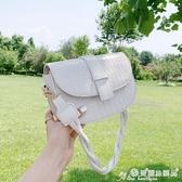 馬鞍包 小包包女包2020夏季新款潮質感ins百搭側背斜背包網紅時尚馬鞍包 愛麗絲