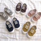 兒童帆布鞋 百搭休閒鞋 方便鞋 小童板鞋...