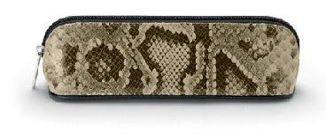 Faber-castell 經典蛇紋皮筆袋 *188845