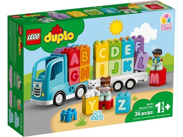 【愛吾兒】LEGO 樂高 duplo得寶系列 10915 字母卡車
