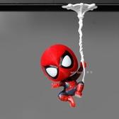 Q版蜘蛛俠冰箱貼3D立體磁鐵磁貼兒童吸鐵石【步行者戶外生活館】