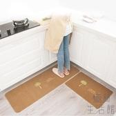 廚房地墊吸水防油腳墊門墊防滑蹭腳地墊家用臥室【極簡生活】