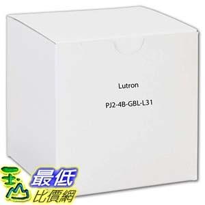 [7美國直購] Lutron PJ2-4B-GBL-L31 Electrical Distribution Product Black