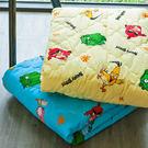 涼被 / 單人【憤怒鳥黃】4X5尺,可愛卡通Angry Birds,磨毛工法,戀家小舖台灣製