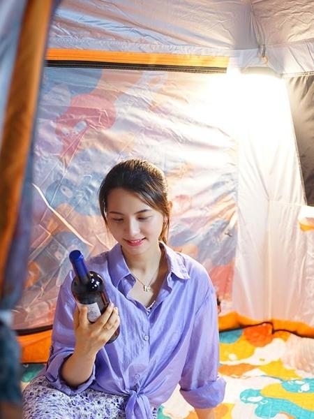 戶外露營燈LED應急燈強光野營地超亮帳篷燈充電磁吸夜市擺攤照明