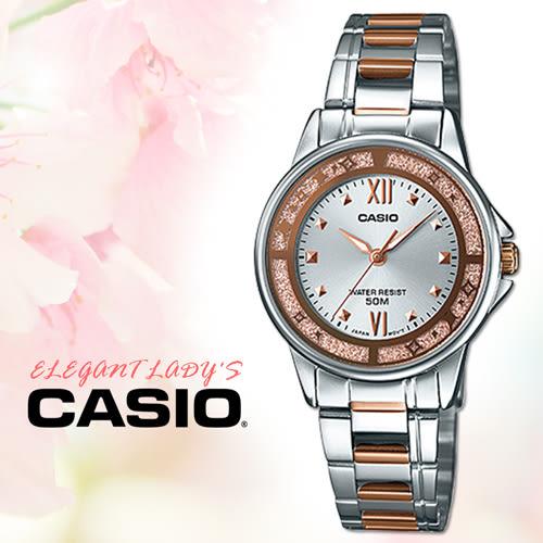 CASIO手錶專賣店 卡西歐 LTP-1391RG-7A 女錶 指針表 玫瑰金離子鍍錶帶 三折疊錶扣 50米防水
