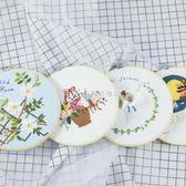 刺繡DIY歐式孕期古風手工布藝材料包創意制作3D立體繡蘇繡絲帶繡  瑪奇哈朵
