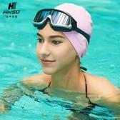 海娜斯頓泳鏡高清 防水 大框電鍍透明游泳眼鏡男女潛水裝備 宜品