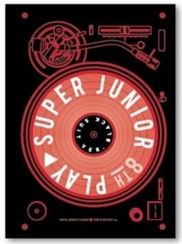 SUPER JUNIOR 第八張正規專輯 PLAY Black Suit 版 台壓版 CD 免運 (購潮8)