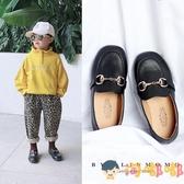 女童皮鞋小女孩公主鞋寶寶單鞋兒童鞋男童豆豆鞋【淘嘟嘟】