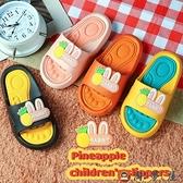 兒童拖鞋夏卡通可愛浴室防滑軟底室內男女童涼拖【淘夢屋】