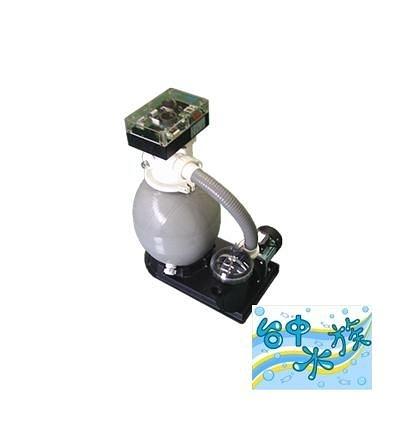 {台中水族} 義大利SUNWE -SFS350AUTO 全自動攪拌式過濾器(4200L/H) -1/3HP-110V  特價 池塘/魚池/錦鯉池用