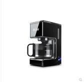 咖啡機 美式咖啡機家用全自動小型滴漏式迷你煮咖啡泡茶一體現磨冰咖啡壺 LX220V 晶彩