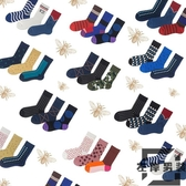 3雙裝 襪子運動棉中筒襪男女韓版潮學院風長襪街頭【左岸男裝】