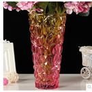 新款歐式大號彩色透明水晶玻璃花瓶 SQ1034『伊人雅舍』