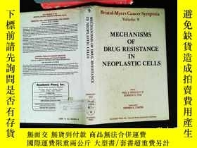 二手書博民逛書店mechanisms罕見of drug resistance in neoplastic cellsY1674