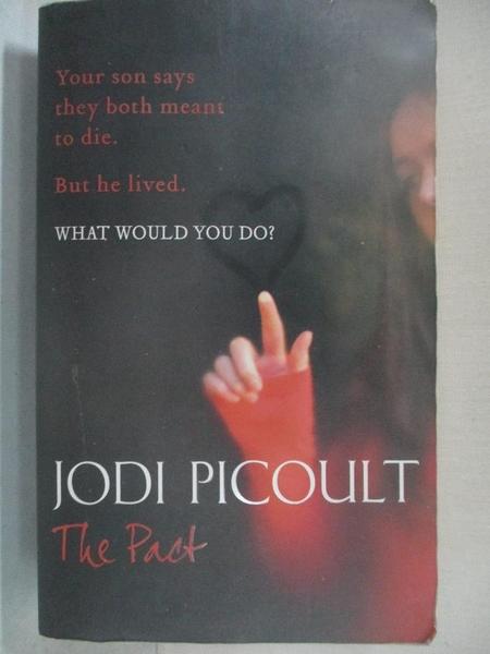 【書寶二手書T1/原文小說_B2N】The Pact_Jodi Picoult