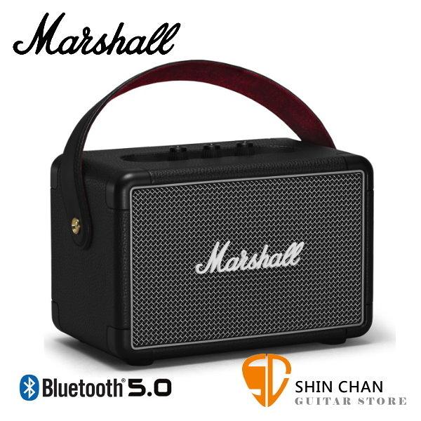【預購】Marshall Kilburn II 攜帶式藍牙喇叭 經典黑全新二代 Kilburn Ⅱ 藍芽 台灣公司貨