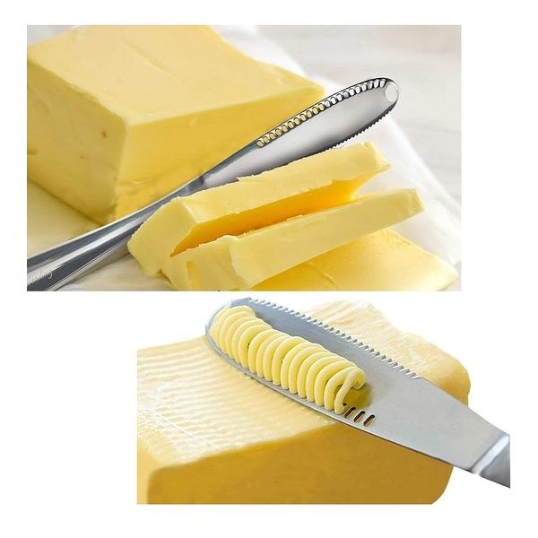 三合一不銹鋼奶油抹刀 2入 Butter Spreader [2美國直購]