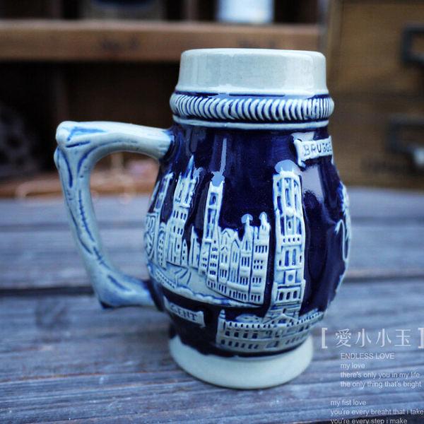 【比利時-威廉王子】德國啤酒杯
