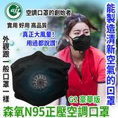 Gair森氧正壓空調口罩(豪華版)/口罩型空氣清淨機  解決戴口罩悶熱煩惱 智能口罩 N95 電子口罩