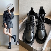馬丁靴女英倫風年秋冬新款加絨帥氣機車網紅短靴女春秋單靴子