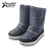 PolarStar 兒童 防潑水 保暖雪鞋│雪靴『海軍藍』 268533 (內厚鋪毛/ 防滑鞋底) 雪地靴.