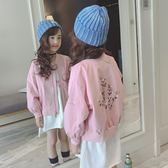 女童棒球服外套秋裝正韓春秋童裝兒童大童洋氣上衣夾克潮【全館免運】