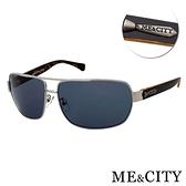 【南紡購物中心】【SUNS】ME&CITY 時尚飛行員金屬方框太陽眼鏡 抗UV400 (ME 110012 B611)