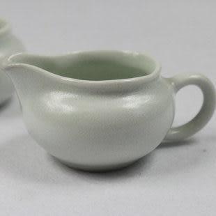 純白小茶壺龍泉青瓷 雙漁瓷莊