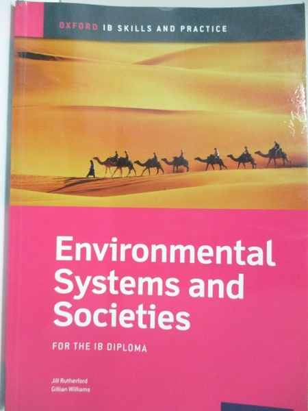 【書寶二手書T1/大學理工醫_I9E】Environmental Systems and Societies: For the IB Diploma