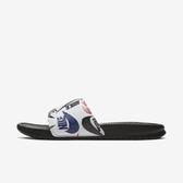 Nike Benassi Jdi Print [631261-035] 男鞋 拖鞋 涼鞋 運動 休閒 雨天 海邊 黑彩