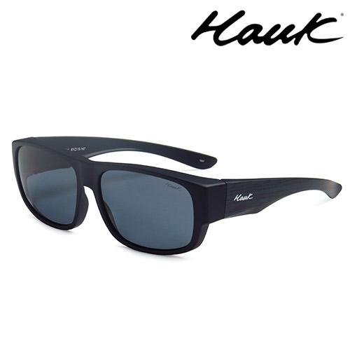 HAWK偏光太陽套鏡(眼鏡族專用)HK1010-BL1