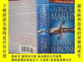 二手書博民逛書店A罕見Game of Thrones:Book one of a song of ice and fire(详见图