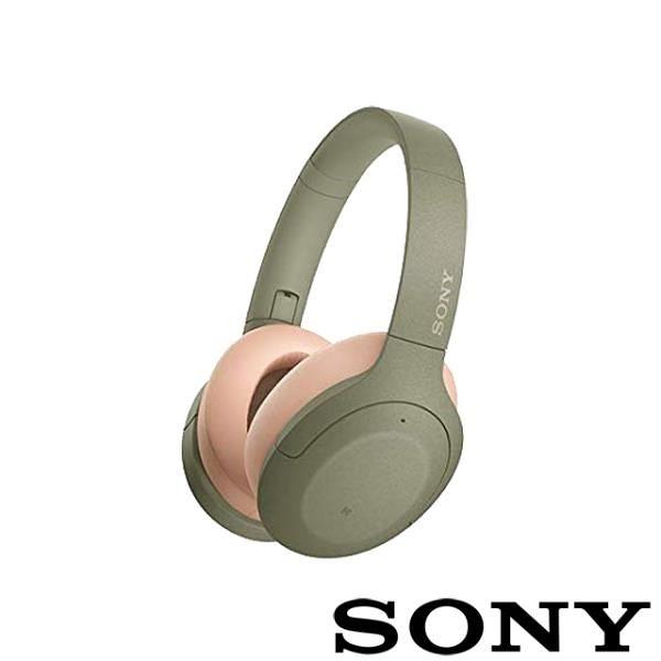 【南紡購物中心】SONY WH-H910N 無線藍牙降噪耳機-綠色