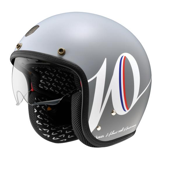 【東門城】ASTONE SP3 K127 (平光水泥灰/白) 復古帽 安全帽 內襯可拆洗