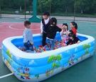 充氣泳池 兒童游泳池加厚兒童家用寶寶游泳...