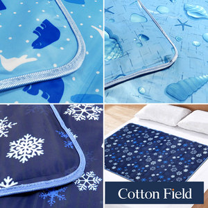 棉花田 極致酷涼冷凝床墊-3款可選(90x140cm)北極雪
