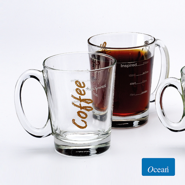 Ocean GET ACTIVE咖啡玻璃杯315cc