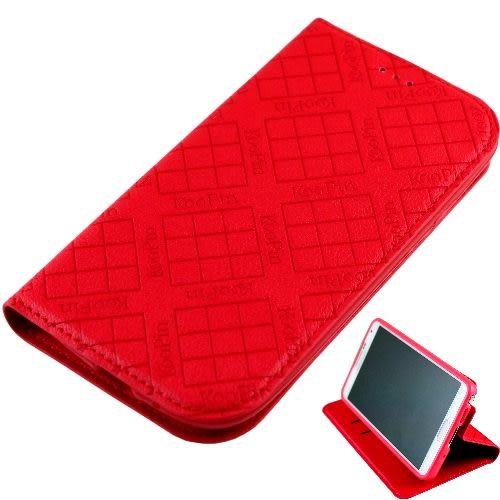 KooPin Samsung Galaxy S4 (I9500) 隱磁系列 超薄可立式側掀皮套◆送很大!專用型螢幕保護貼◆