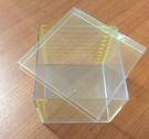 【台灣製USL遊思樂】容積教具 / 1公升容器(透明,ML/DL方盒+蓋,1pcs) / 袋